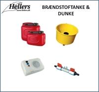 Brændstoftank | Brændstofdunk | hellers.dk |