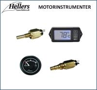 Motorinstrumenter | Bådinstrumenter | hellers.dk |
