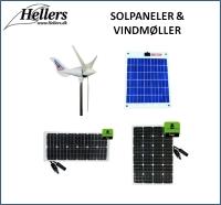 Solpaneler | Vindmøller | hellers.dk |