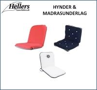 Komfort ombord | Hynder | Madrasunderlag | hellers.dk |