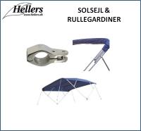Komfort ombord   Solsejl   Rullegardiner   hellers.dk  