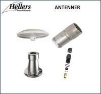 Antenne | Bådantenne | hellers.dk |