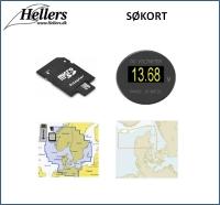 Søkort | Papirsøkort | Digitale søkort | hellers.dk |
