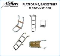 Platforme | Badestiger | Stævnstiger | hellers.dk |